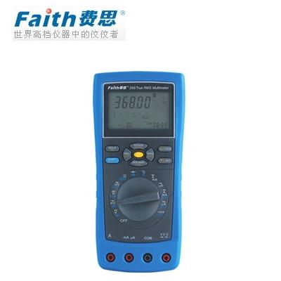 费思faith FT368 超强功能数据通讯真有效值万用表(USB接口)