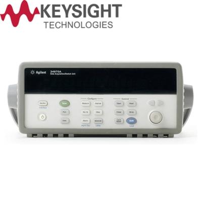 是德科技Keysight 34970A 数据采集控制主机和模块
