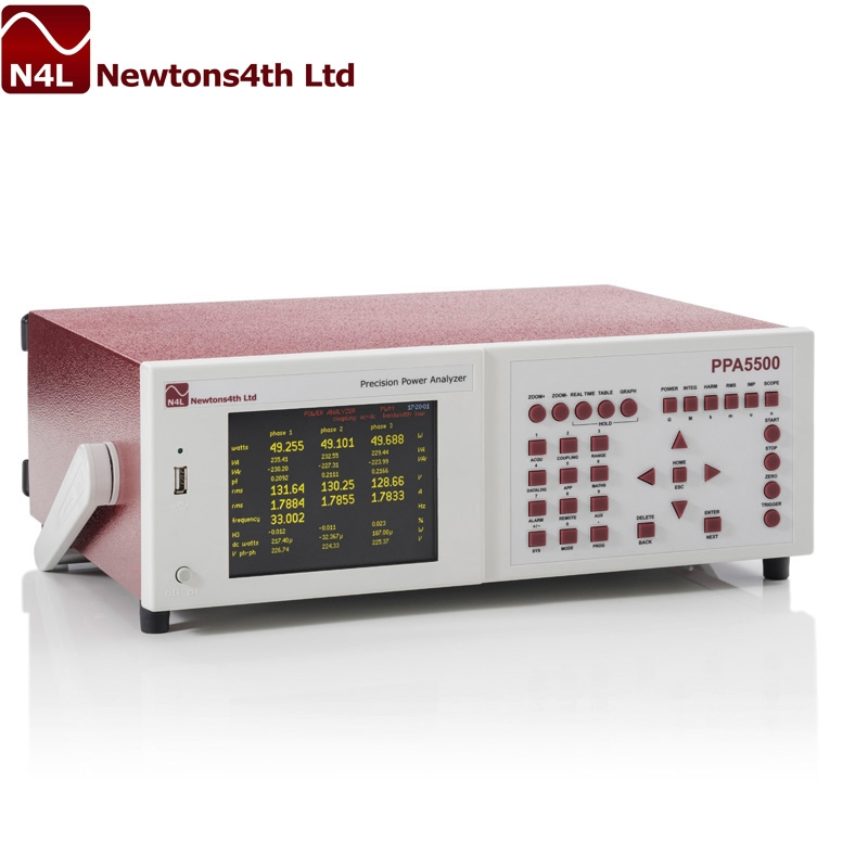 牛顿N4L/ PPA5500 功率分析仪