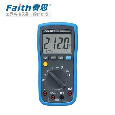 费思Faith FT212 宽频响真有效值万用表(停产)