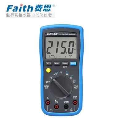费思Faith    FT215 宽频响真有效值万用表(停产)