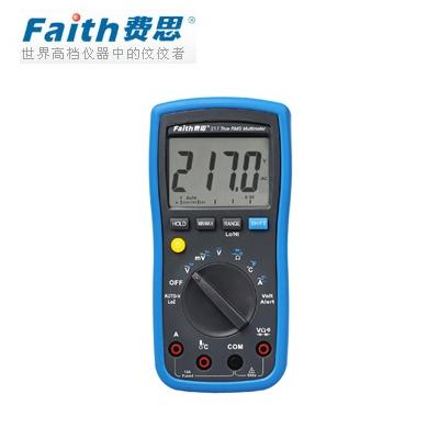 费思Faith  FT217 宽频响真有效值万用表(停产)