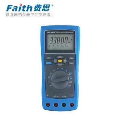 费思Faith  FT338 工业用数据通讯真有效值万用表(USB接口)