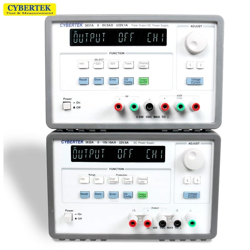 知用Cybertek 3631A(6V/5A ±32V/1A 三通道)数控线性直流电源(停产)