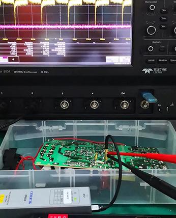 MOSFET驱动波形与隔离探头OP6030测试方案