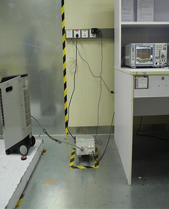 落地空调扇传导实测对比和接收机校准报告